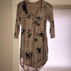 Tye dye casual dress